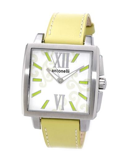ANTONELLI 950035 – Reloj Unisex movimiento de cuarzo con correa de piel