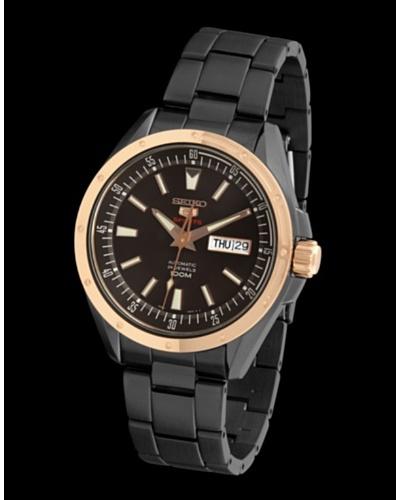 SEIKO SRP162K1 – Reloj de Caballero movimiento automático con brazalete metálico