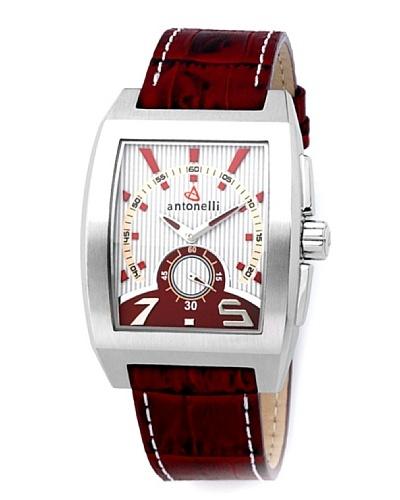 ANTONELLI 900024 – Reloj de Caballero movimiento de cuarzo con correa de piel