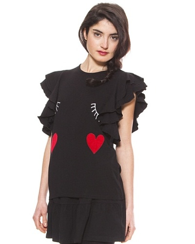 La Casita de Wendy Camiseta Familia Caras