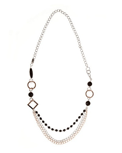 Lagrimas Negras Collar Chanel Negro Bronce