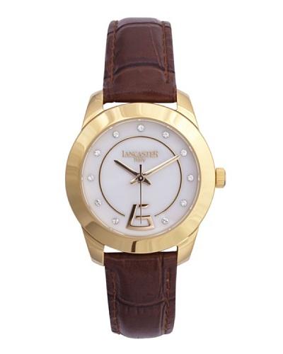 Lancaster 0632LZYGBNMR – Reloj de Señora cuarzo piel Marrón
