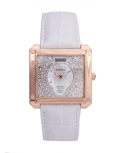 Lancaster 0635LZRGBNBN – Reloj de Señora cuarzo piel Blanco