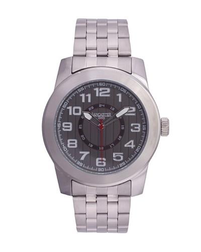 Lancaster 0636MBSSNR – Reloj de Caballero cuarzo Plata