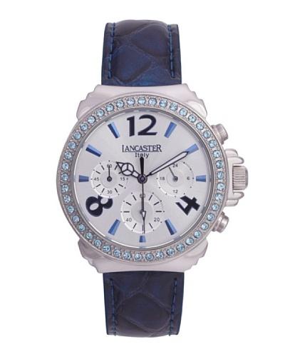 Lancaster 0633LZSSBNCL – Reloj de Señora cuarzo piel Azul