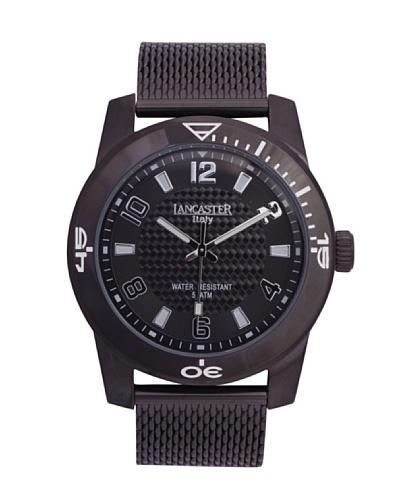 Lancaster 0637RBKNRBN – Reloj de Caballero cuarzo Negro