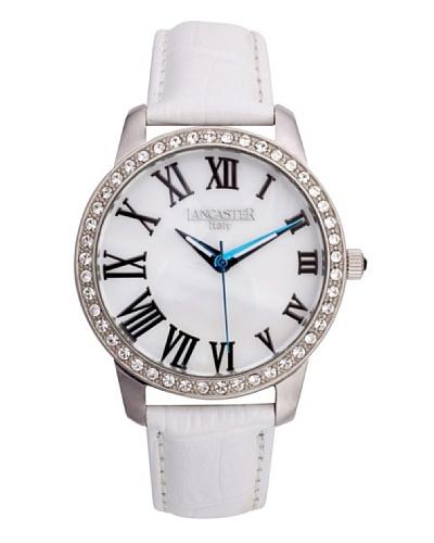 Lancaster 0638LZSSBNBN – Reloj de Señora cuarzo piel Blanco