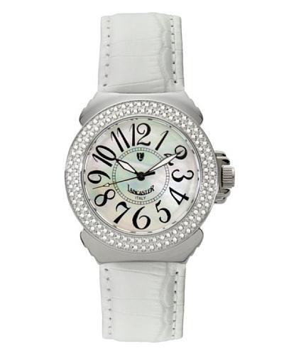 Lancaster 0348LBNBN – Reloj de Señora cuarzo piel Blanco