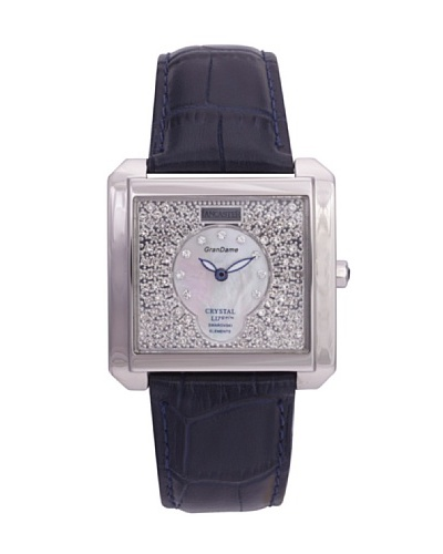Lancaster 0635LZSSBNBL – Reloj de Señora cuarzo piel Azul
