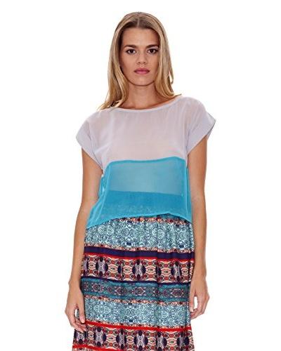 Lavand Blusa Dos Colores