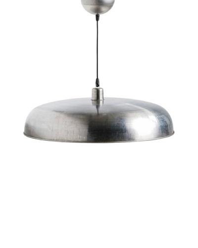 Lámpara de diseño Colgante Paella 52cm acabado metalizado