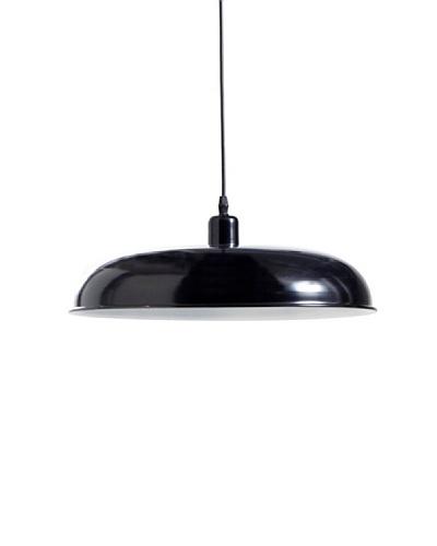 Lámpara de diseño Colgante Paella 40cm acabado negro