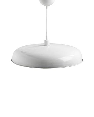Lámpara de diseño Colgante Paella 52cm acabado blanco