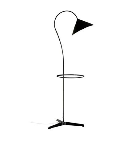 Lámpara de diseño Pie de acero Con bandeja