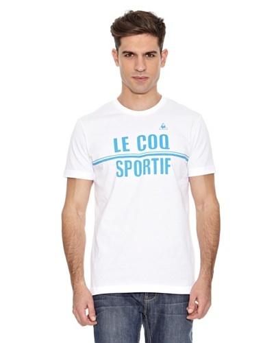 Le Coq Sportif Camiseta Sorg Tss Blanco