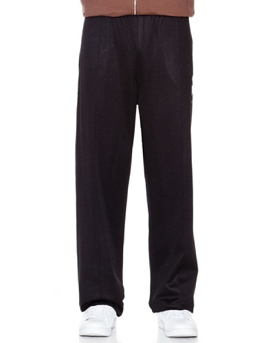 Le Coq Pantalón Bolsillos Negro