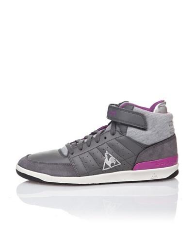 Le Coq Sportif Zapatillas Retro Sport Diamond Lea Gris / Púrpura