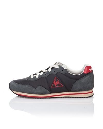 Le Coq Sportif Zapatillas Retro Lifestyle Milos Negro / Rojo