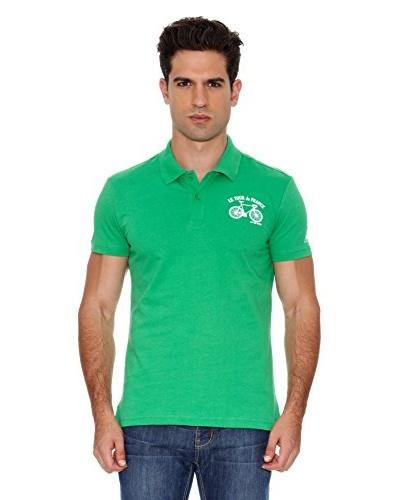 Le Coq Sportif Polo Tdf Fanwear Nº3 Polo Ss M Verde
