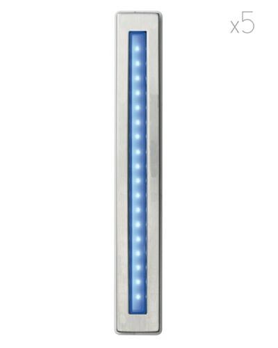 Leonardo Lámpara de Exterior Kit 5 Piezas Como Azul
