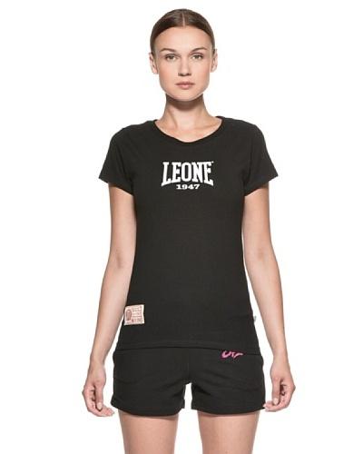 Leone 1947 Camiseta Muay Thai Negro