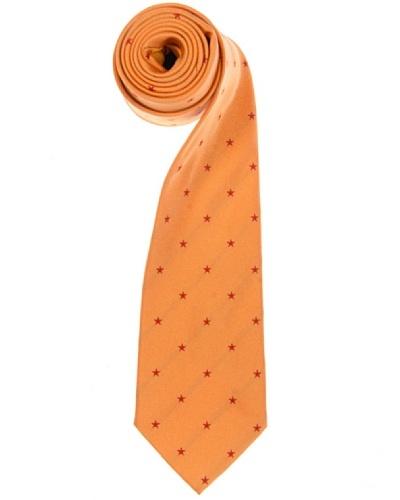 Lester Corbata Estrellas Naranja / Rojo