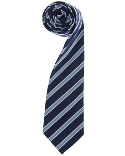 Lester Corbata Mogador Raya Simple Azul / Azul