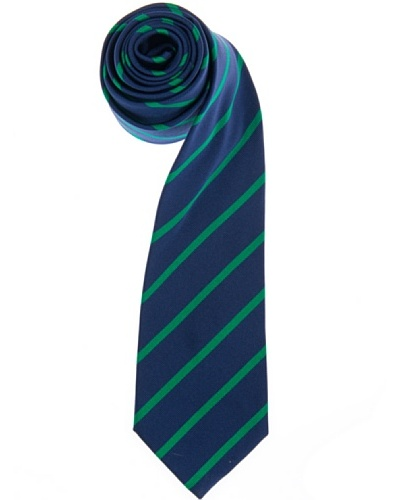 Lester Corbata Riga Reps Azul / Verde