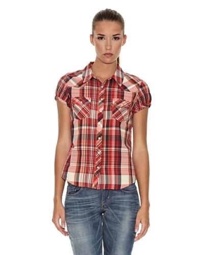 Levi's Camisa Western Tia Check Sun Cora
