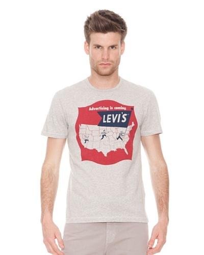 Levi's Camiseta Manga Corta Map Archive