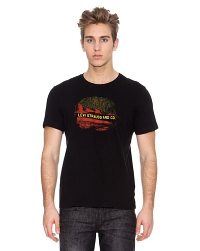 Levi's Camiseta Seasonal Graphic Black