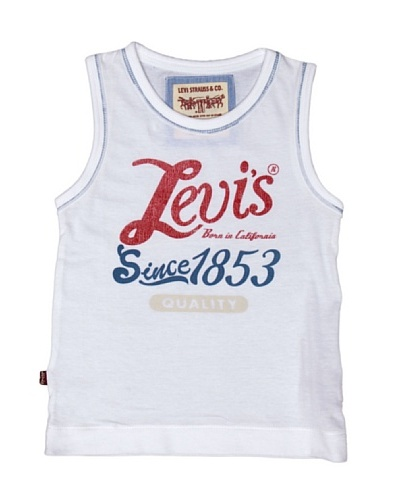 Levi'S® Kids Camiseta Andy Blanco