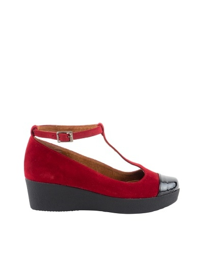 Liberitae Zapatos Negro / Burdeos