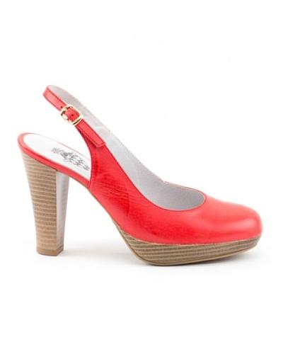 Liberitae Zapatos Salón Talón Rojo