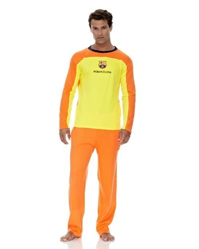 Licencias Pijama FC Barcelona Amarillo / Naranja