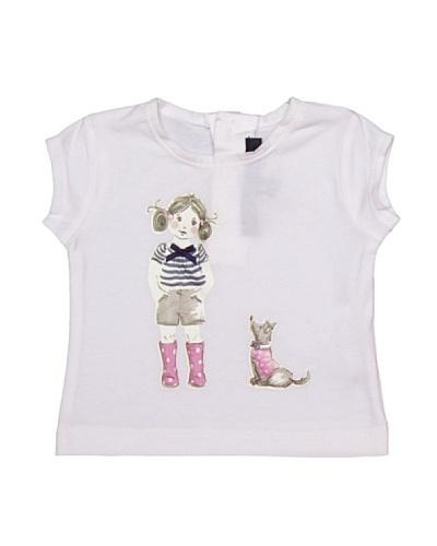 Lili Gaufrette Camiseta Bebé Niña Y Perro