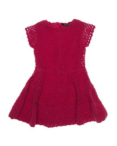 Lili Gaufrette Vestido Niña Crochet