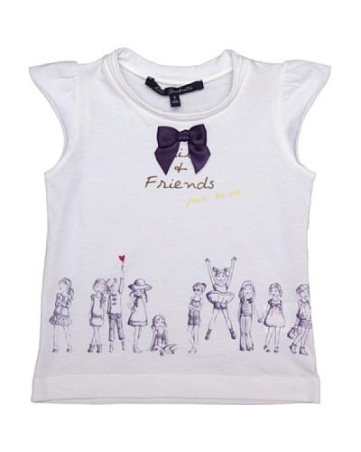 Lili Gaufrette Camiseta Niña Amigos