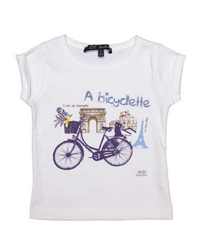 Lili Gaufrette Camiseta Niña París