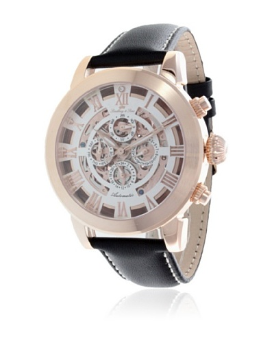 Lindberg & Sons Reloj Azteca Oro Rosa