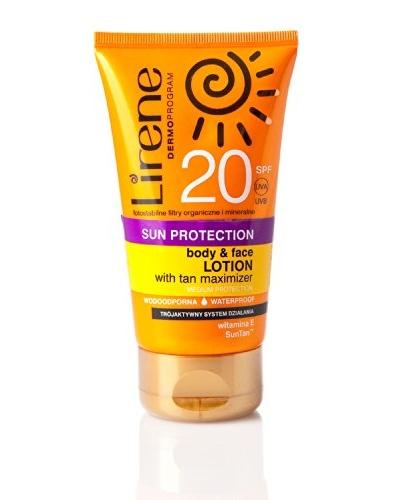 Lirene Loción Protectora Cara y Cuerpo SPF20 150 ml
