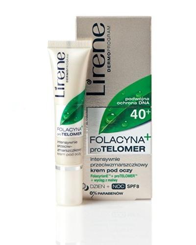 Lirene Crema Intensa Contorno Ojos Anti-Arrugas SPF8 15 ml