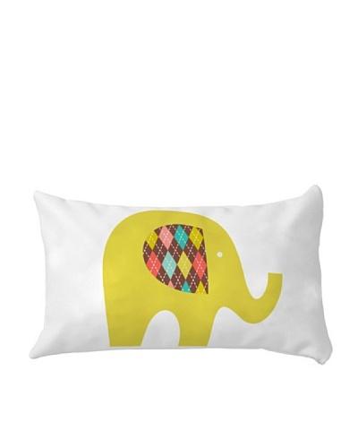 Little W Funda de Cojín Sweet Elephants