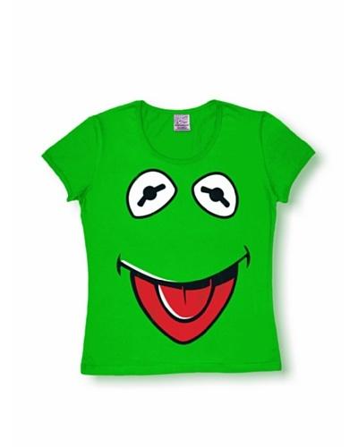 Logoshirt Mujer Camiseta Muppets – Cara – Kermit