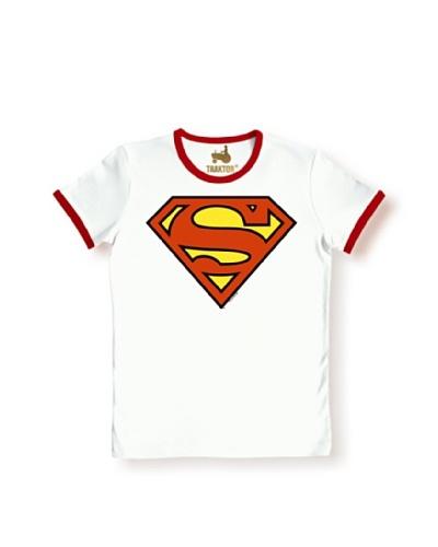 9a33d025e Logoshirt Camiseta Superman Blanco   Rojo