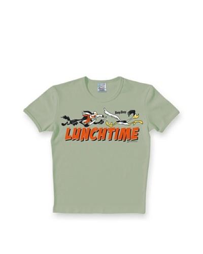 Logoshirt Camiseta Ajustada Looney Tunes Lunchtime