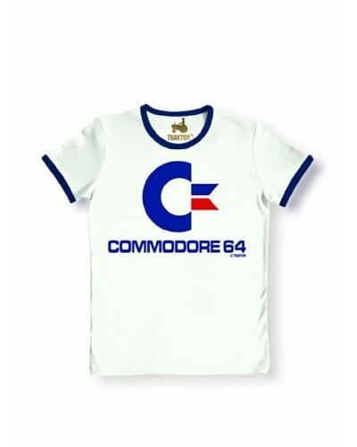 Logoshirt Camiseta Unisex COMMODORE Camiseta Ajustada
