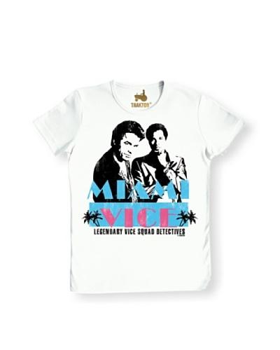 Logoshirt Camiseta Unisex Corrupción En Miami Camiseta Ajustada