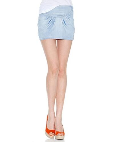 Lois Falda Holy Azul Claro