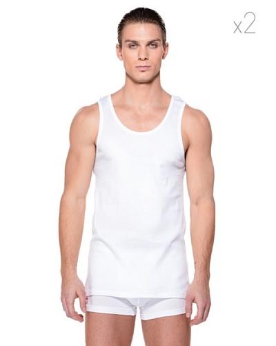Lonsdale Pack 2 Camiseta Seaham Blanco